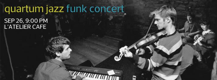 Quartum Jazz Funk Concert