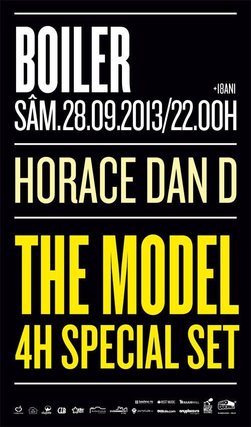 The Model 4h set @ Boiler Club