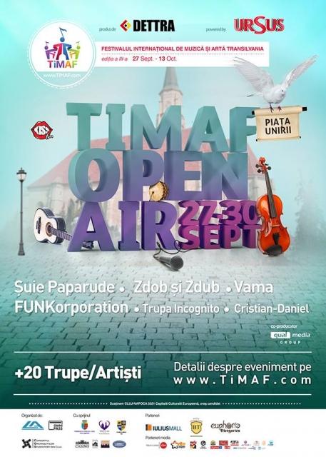 TiMAF Open Air @ Piaţa Unirii