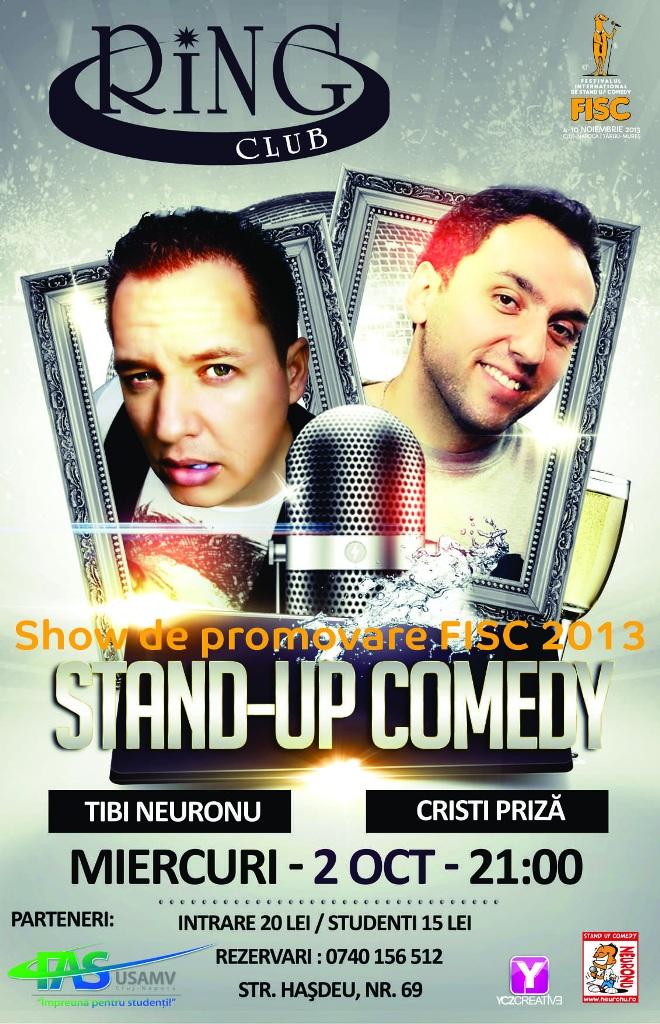 Stand-up Comedy cu Tibi Neuronu și Cristi Priza