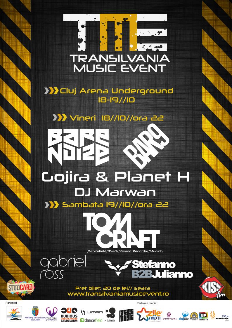 Transilvania Music Event 2013 @ Cluj Arena