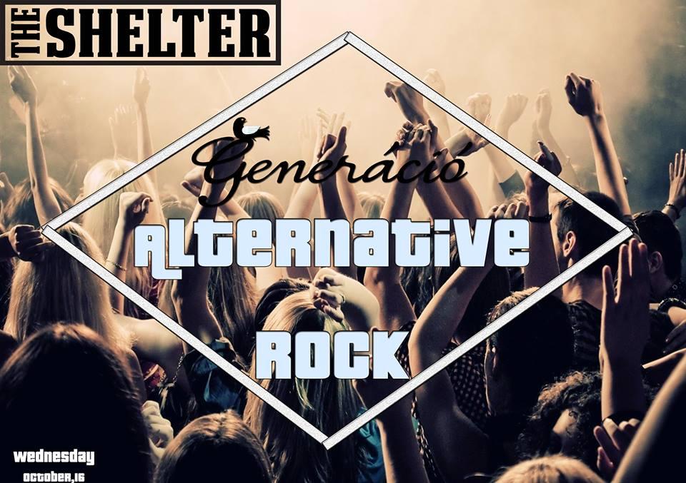 Alternative Rock Party @ The Shelter