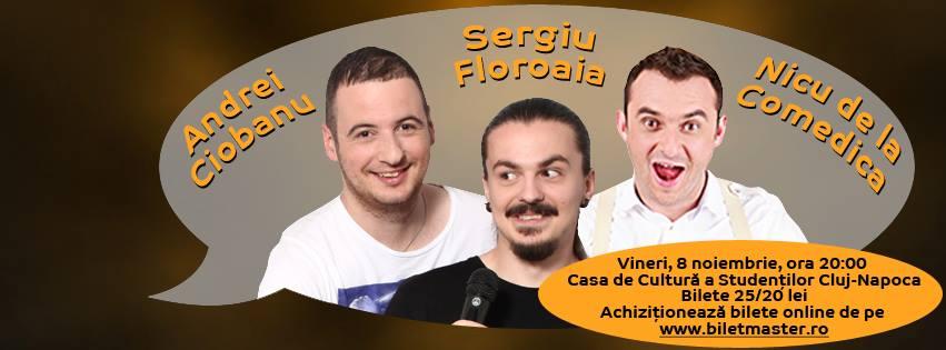 Andrei Ciobanu, Sergiu Floroaia si Nicu Bendea