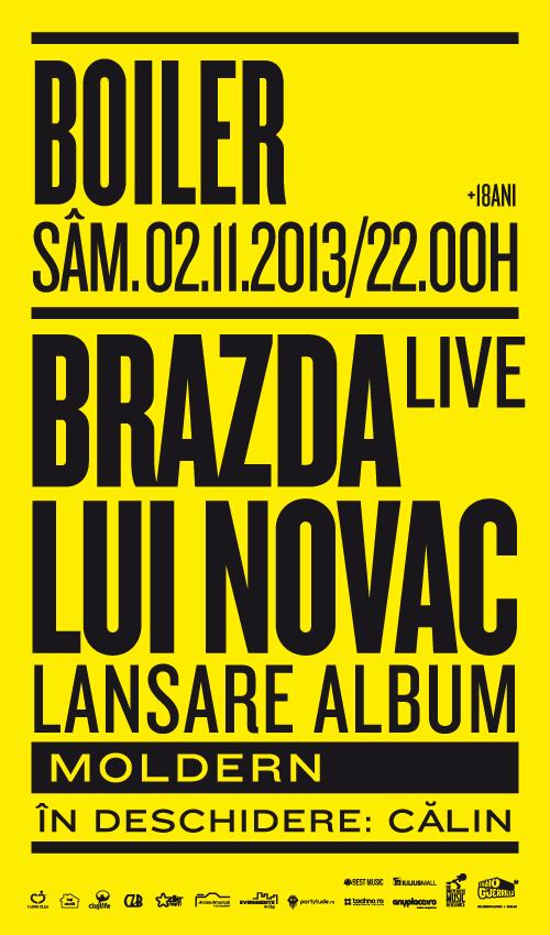 Brazda lui Novac @ Boiler Club