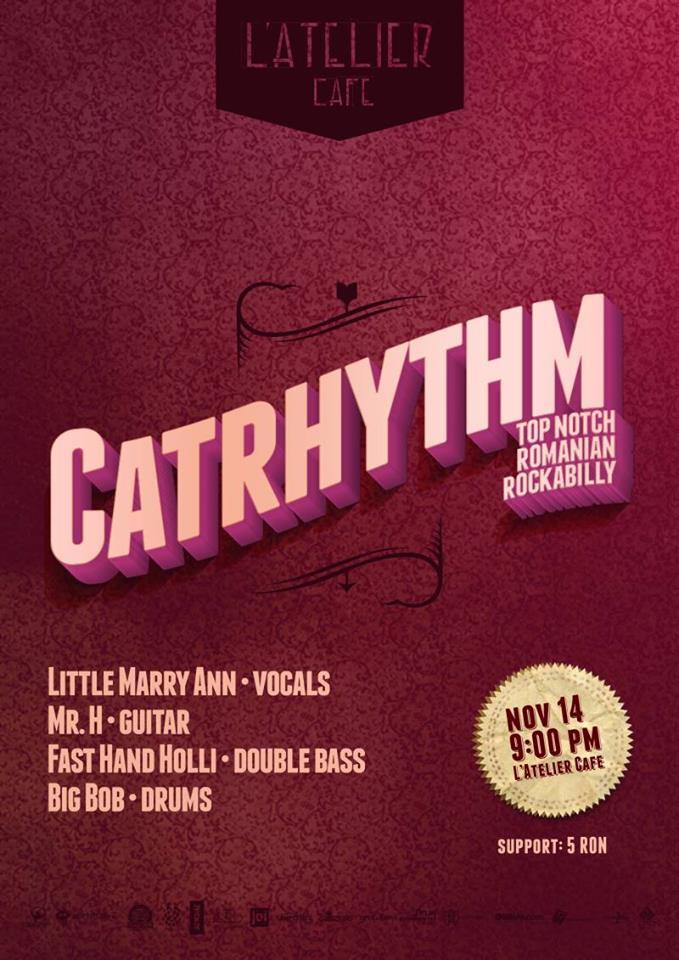 Cathrhythm @ L'Atelier Cafe