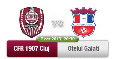 CFR Cluj – Otelul Galati