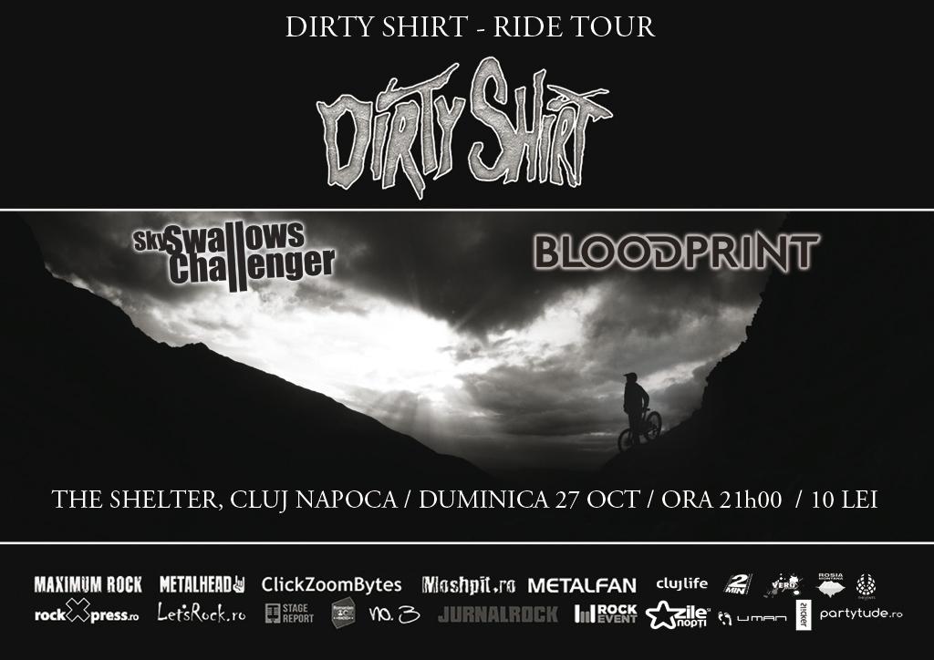 Dirty Shirt / Sky Swallows Challenger / Bloodprint