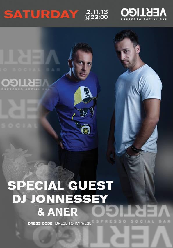 DJ Jonnessey & Aner @ Vertigo