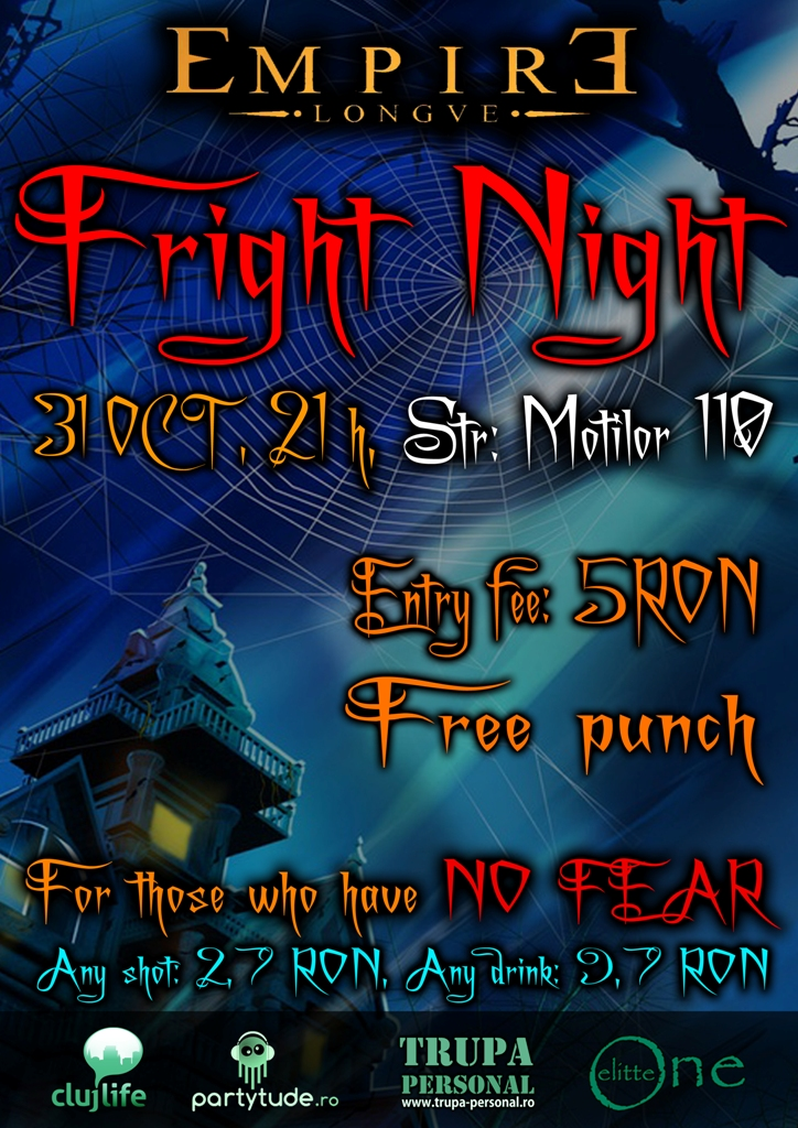 Fright Night @ Empire Lounge