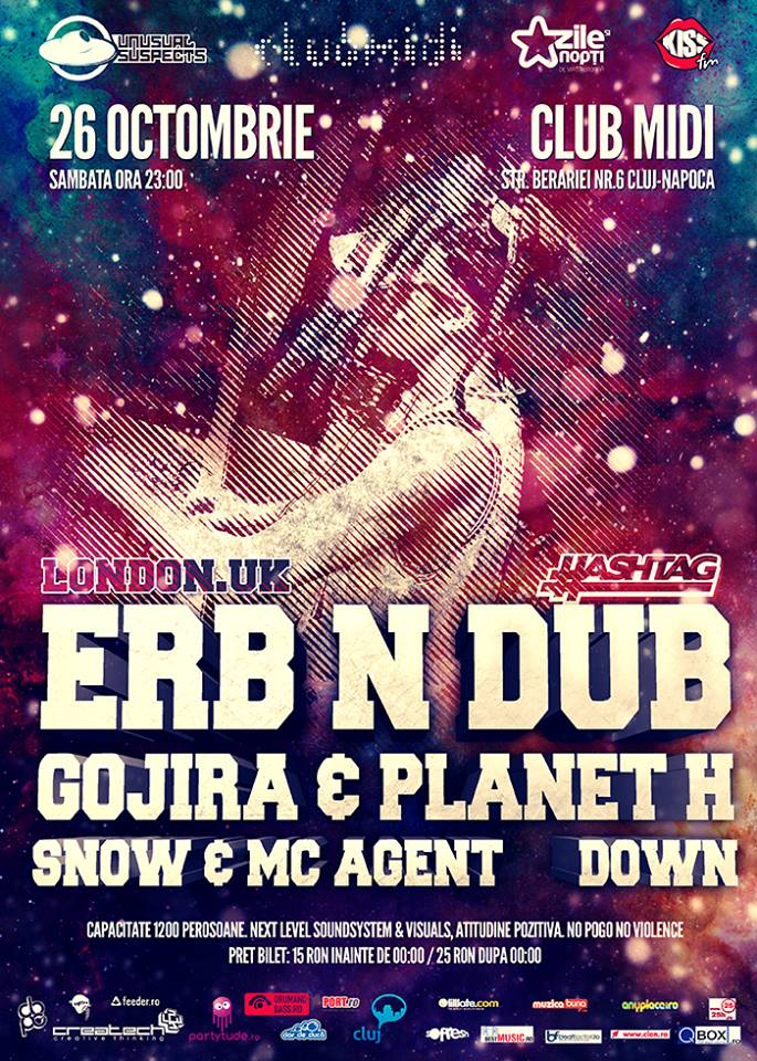 Erb N Dub / Gojira / Planet H @ Club Midi