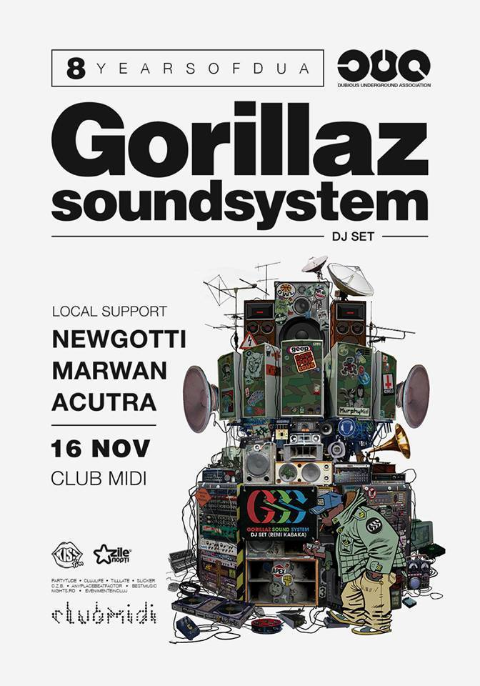 Gorillaz Soundsystem @ Club Midi