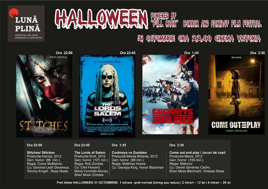 Halloween powered by Full Moon @ Cinema Victoria