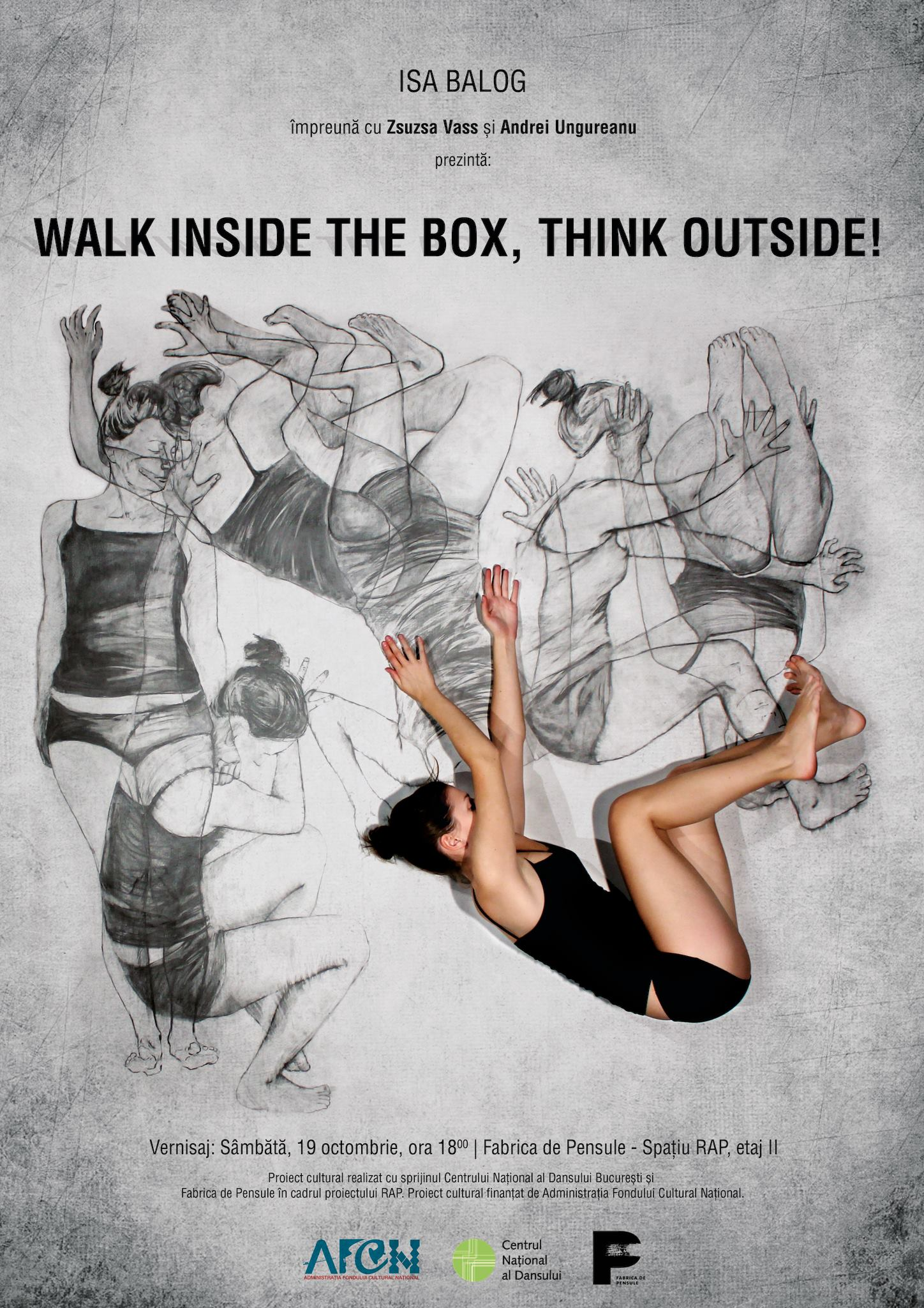 Walk inside the box / think outside!