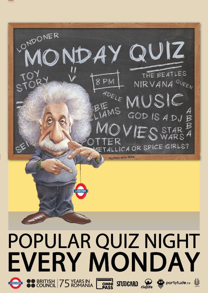 Monday Quiz @ Londoner Pub