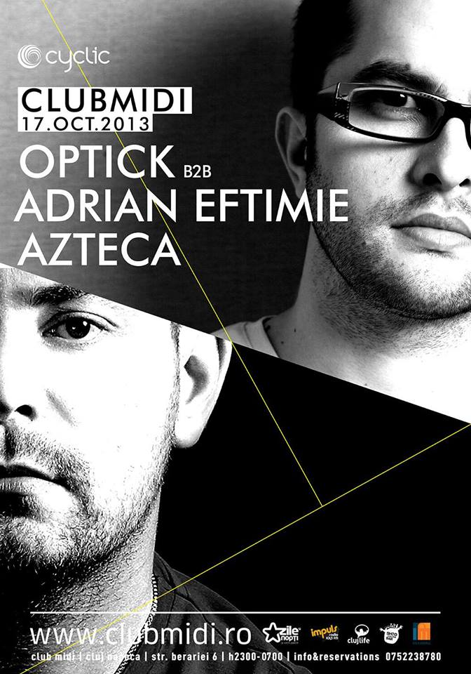 Optick & Adrian Eftimie @ Club Midi