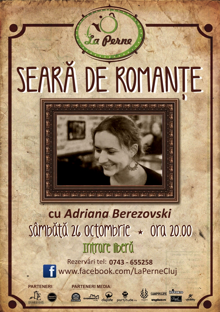 Seară de romanţe @ La Perne