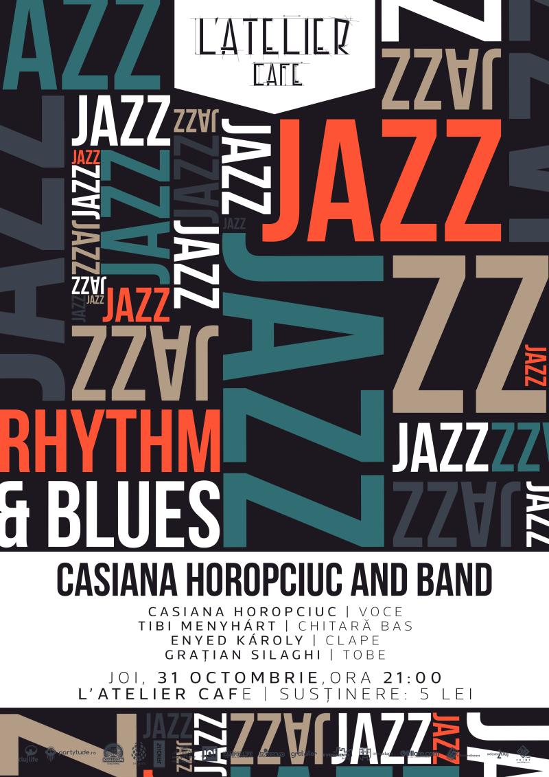 Casiana Horopciuc & Band @ L'Atelier Cafe