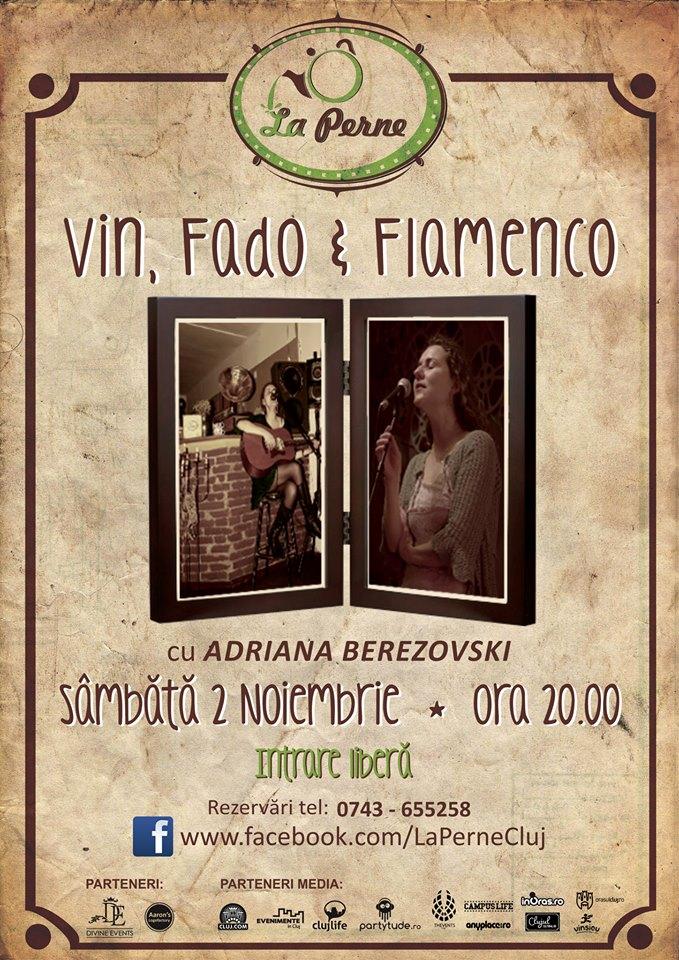 Vin, Fado şi Flamenco @ La Perne