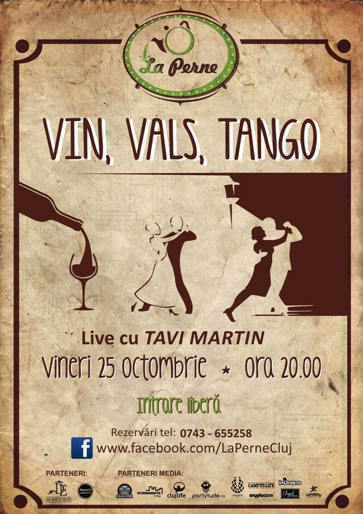 Vin, Vals, Tango @ La Perne
