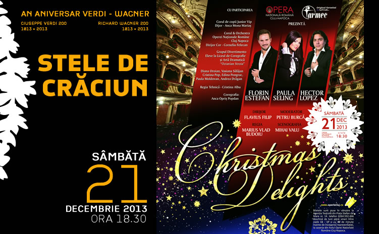 Stele de Crăciun @ Opera Cluj