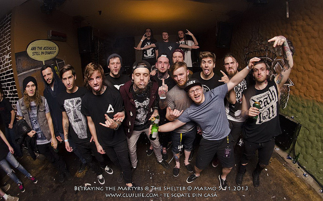 Poze: Betraying the Martyrs @ The Shelter