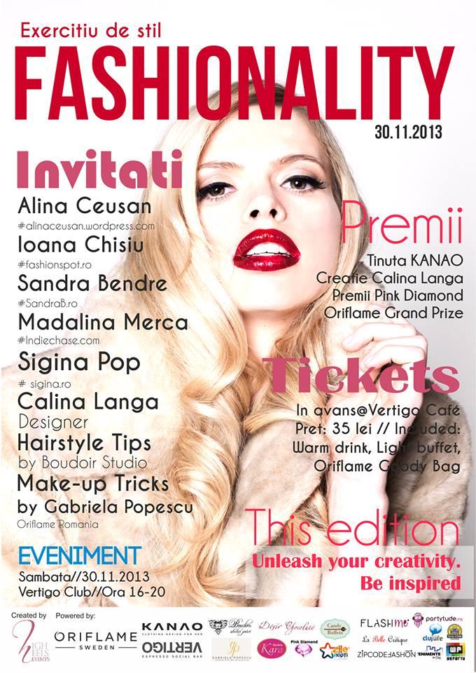Fashionality – 2nd Edition @ Vertigo