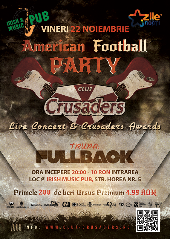 American Football Party @ Irish & Music Pub