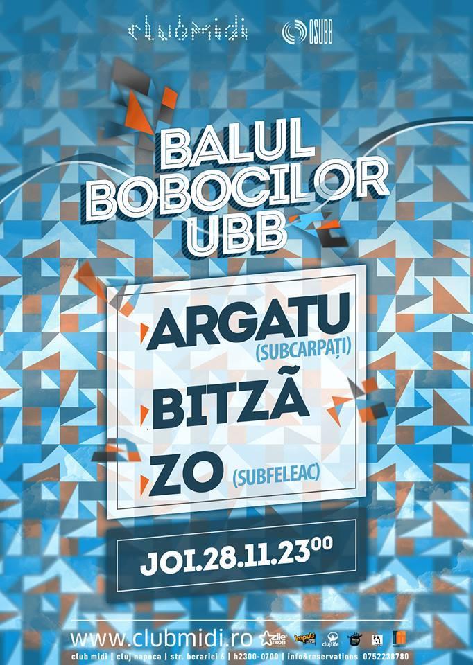 Balul Bobocilor din UBB @ Club Midi