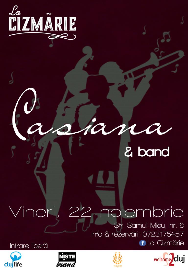 Casiana Horopciuc & Band @ La Cizmărie
