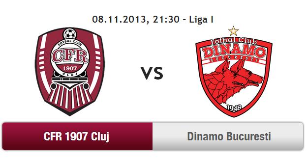 CFR Cluj – Dinamo Bucuresti