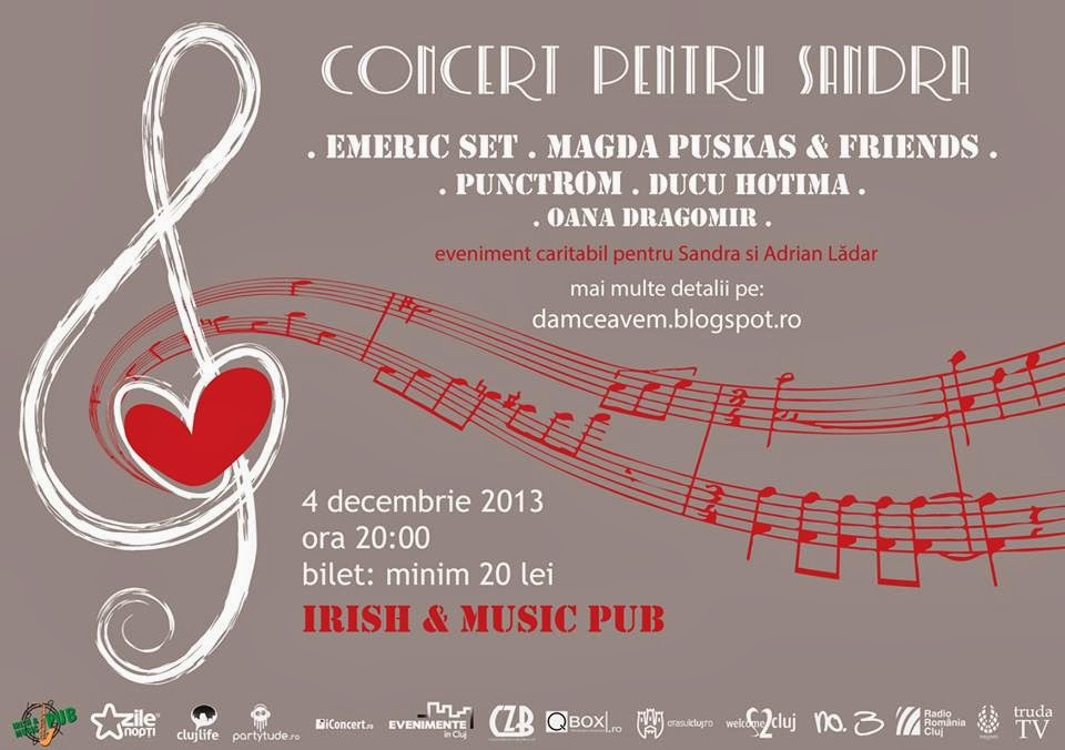 Concert pentru Sandra @ Irish & Music Pub