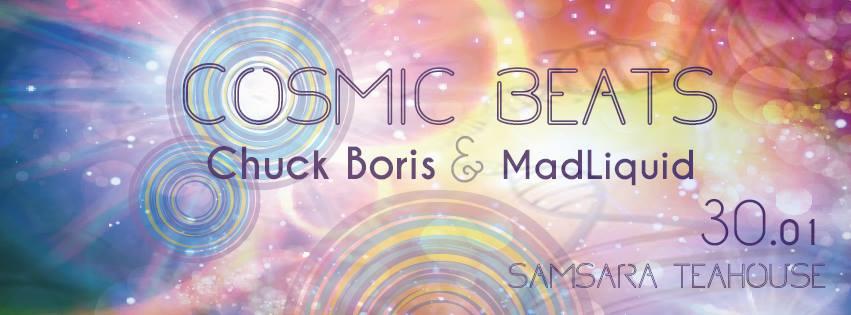 Cosmic Beats @ Samsara Tea House