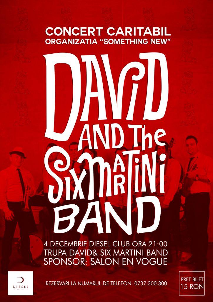 David & Six Martini Band @ Diesel Club