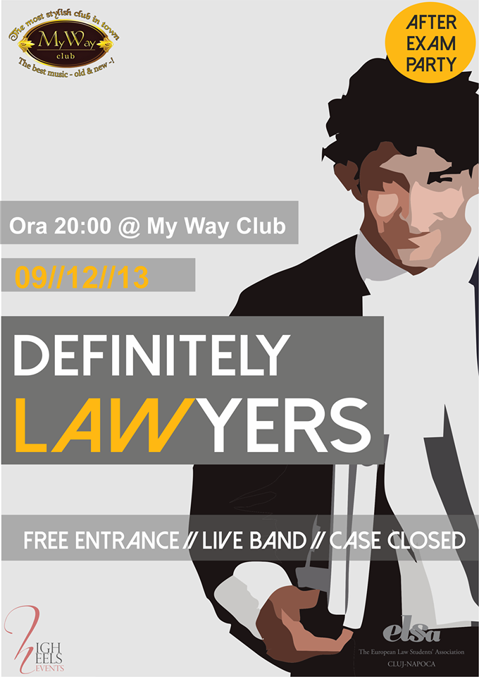 Definitely Lawyers @ My Way Club