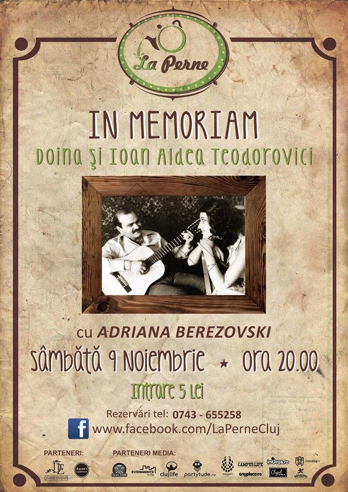 In memoriam Doina şi Ioan Aldea Teodorovici