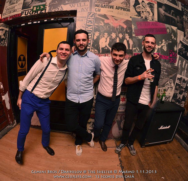 Poze: The Gemini Bros @ The Shelter
