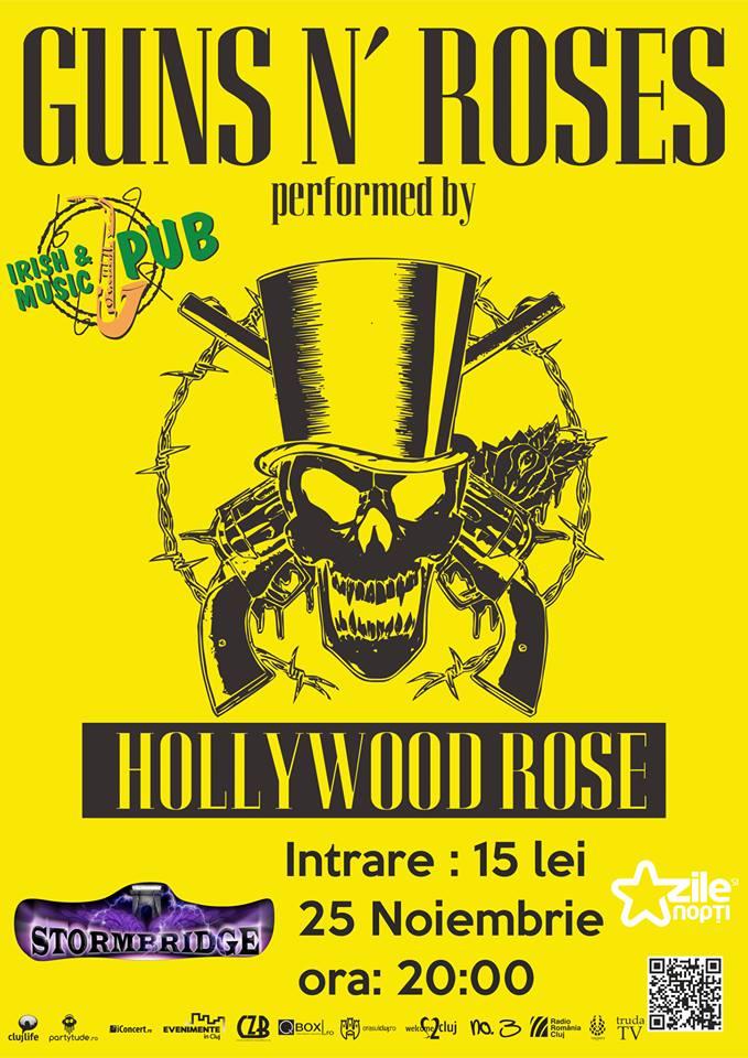 Hollywood Rose @ Irish & Music Pub