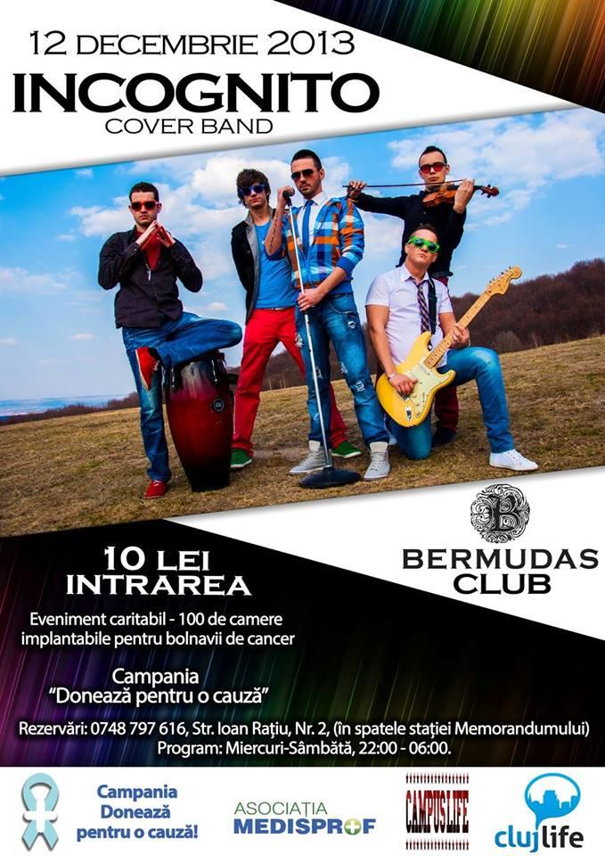 Incognito @ Bermudas Pub