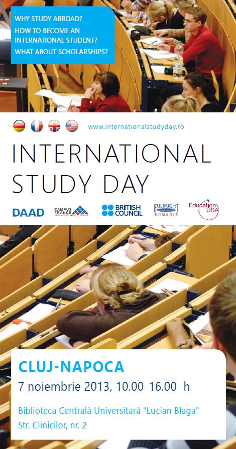 International Study Day @ Biblioteca Lucian Blaga