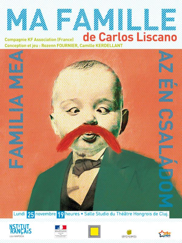 Ma Famille – spectacol în limba franceză la Teatrul Maghiar