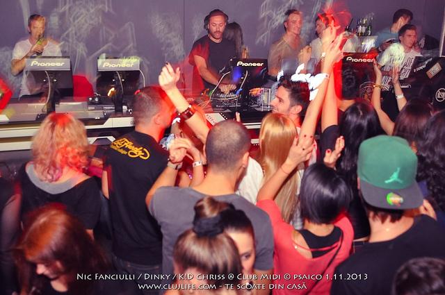Poze: Nic Fanciulli / Dinky / K!D Chriss @ Club Midi