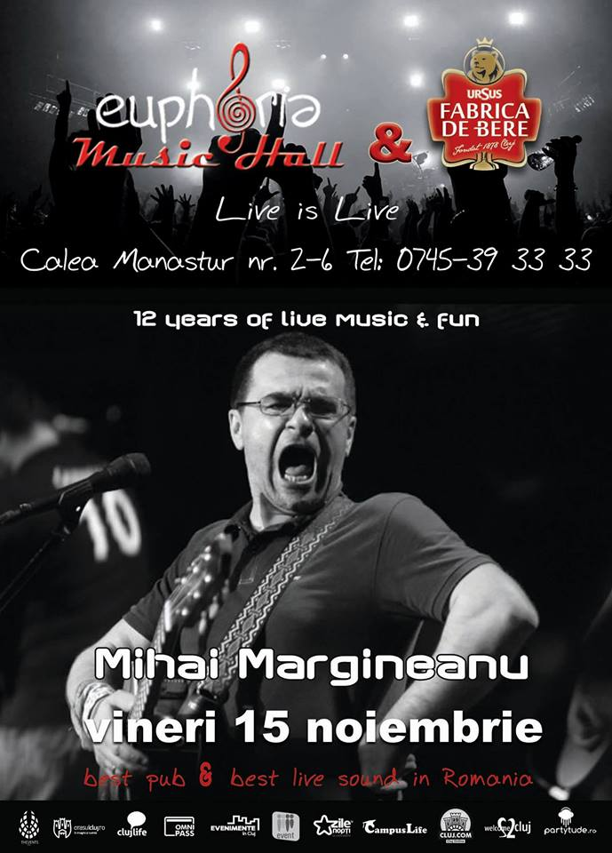 Mihai Margineanu @ Euphoria Music Hall