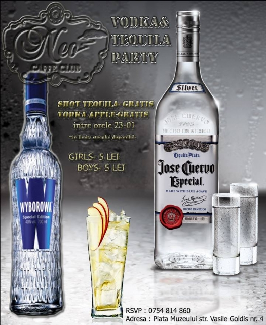 Vodka & Tequila Party @ Neo Caffe