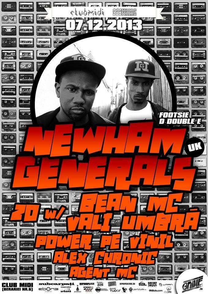 Newham Generals @ Club Midi