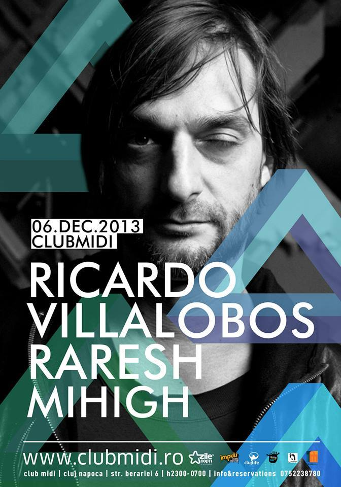 Ricardo Villalobos / Raresh / Mihigh @ Club Midi