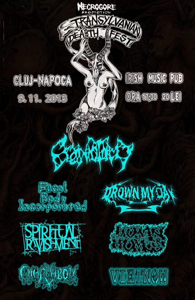 Transylvanian Death Fest V @ Irish & Music Pub
