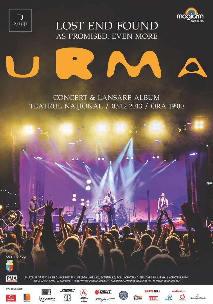 Urma – 10 ani @ Teatrul National Cluj