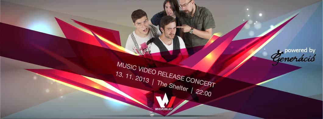 Whisperblast – Music Video Release Concert
