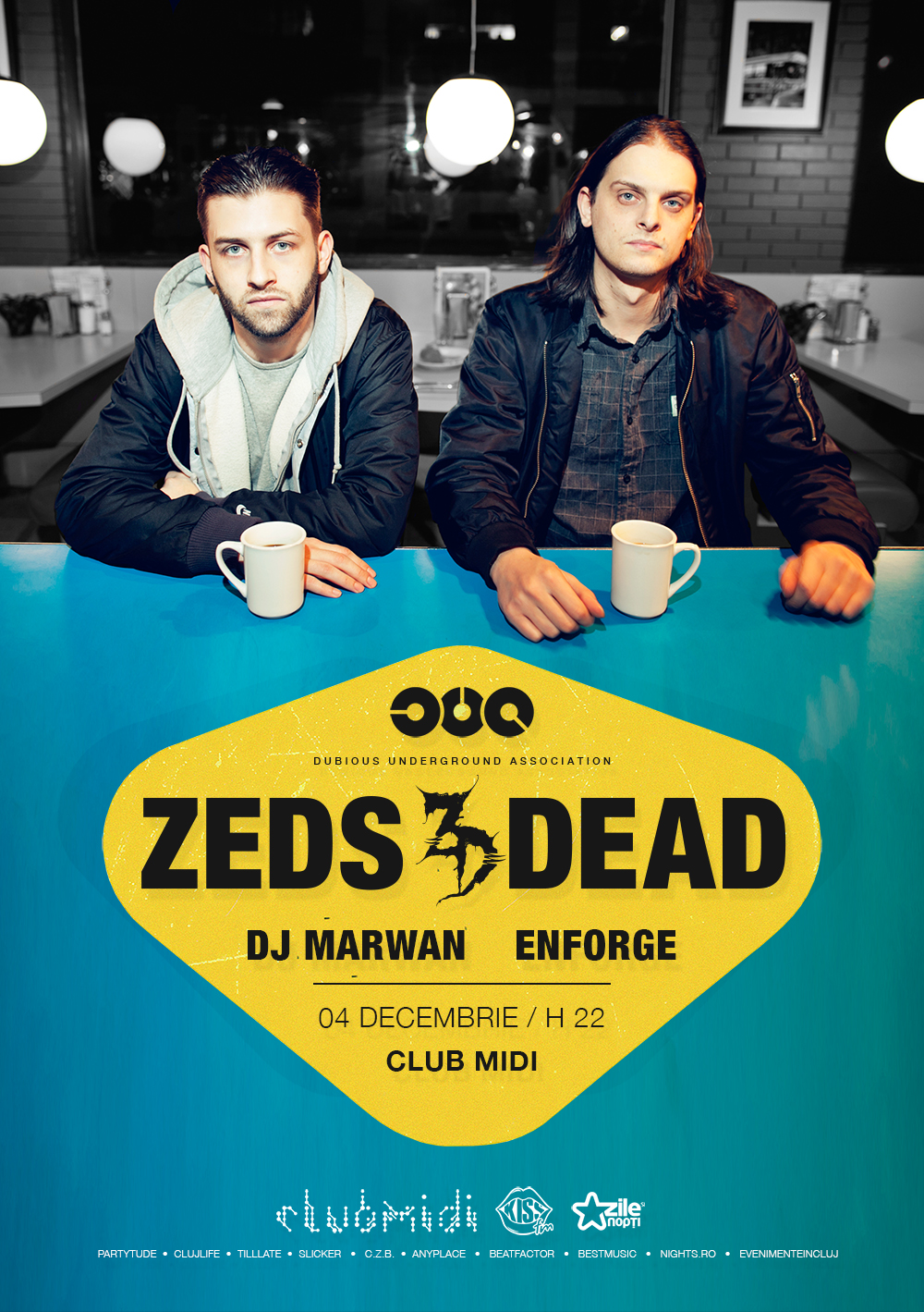 DUA prezinta: Zeds Dead @ Club Midi