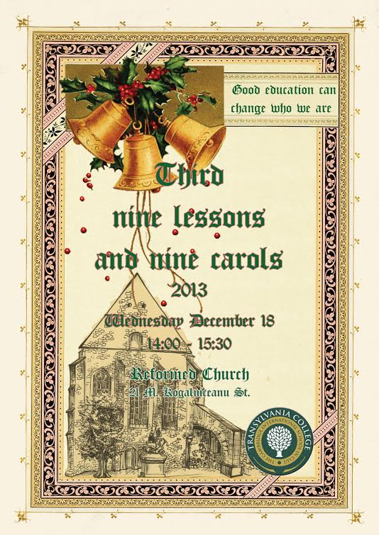 9 Lessons and 9 Carols